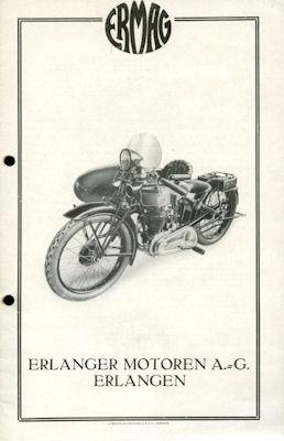 Ermag Modell U 500 Prospekt 1920er Jahre