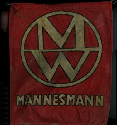 Original Wimpel Mannesmann 1920er Jahre?