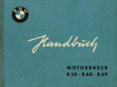 BMW R 50 60 69S Bedienungsanleitung 10.1958