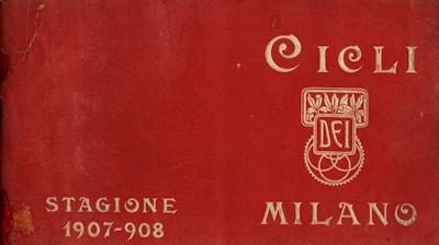 Dei / Milano Fahrrad Katalog 1907/08