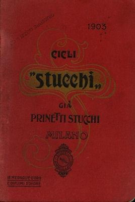 Stucchi / Milano Fahrrad Katalog 1903