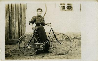 Foto Panther Damenrad 1930er Jahre