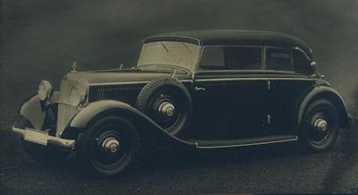 Foto Mercedes Benz 200 Cab. 1930er Jahre