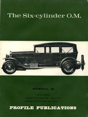O.M. Six-cylinder Profile Publications No. 38