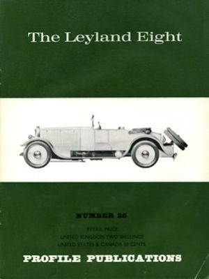Leyland Eight Profile Publications No. 26