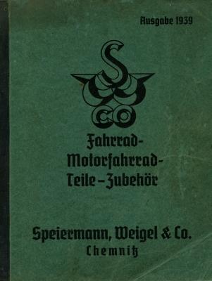 Speiermann & Weigel Zubehör Katalog 1939