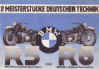 BMW R 5 + R 6 Prospekt 1937