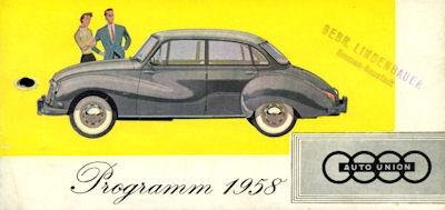 DKW Programm 1958