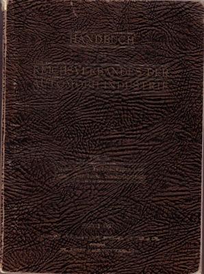 Handbuch des Reichverbandes der Automobilindustrie Teil 3 1927