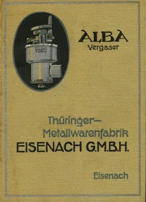 Alba Vergaser 1920er Jahre