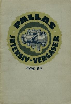Pallas Vergaser HJ 7.1927