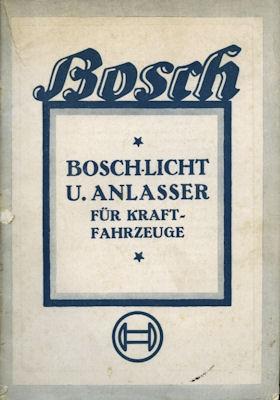 Bosch Licht und Anlasser 9.1930