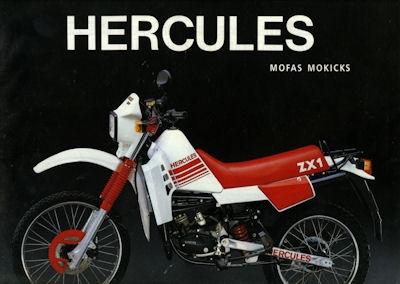 Hercules Mofa Mokick Prospekt 4.1989