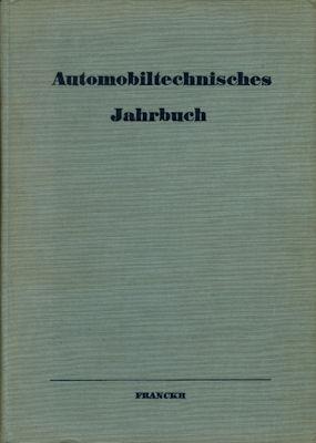 Automobiltechnisches Jahrbuch 1936