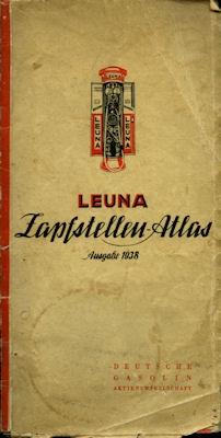 Leuna Zapfstellen-Atlas 1938