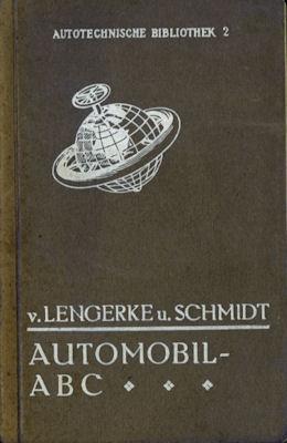 Autotechnische Bibliothek Bd. 2 Automobil ABC 1920