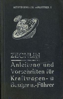 Autotechnische Bibliothek Bd. 1 Anleitungen und Vorschriften 1914
