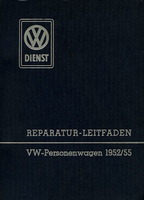 VW Käfer Reparaturanleitung 1952 / 1955
