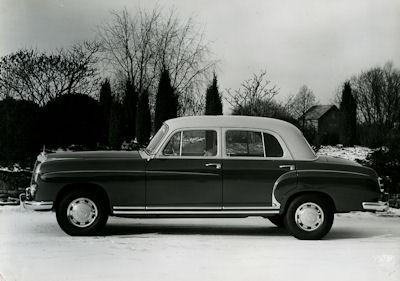 Foto Mercedes Benz 220 1950er Jahre