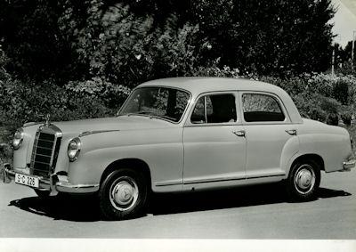 Foto Mercedes Benz 219 1950er Jahre