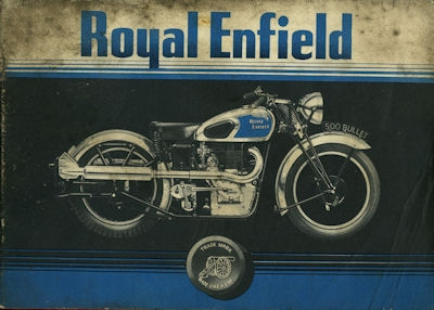 Royal Enfield Programm 1938