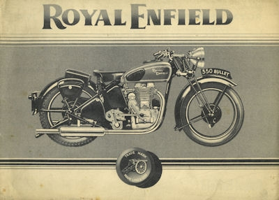 Royal Enfield Programm 1939