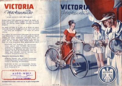 Victoria Fahrrad Programm 1950