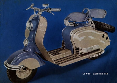 nsu lambretta roller prospekt nr nsu4305 oldthing motorrad firmen k o. Black Bedroom Furniture Sets. Home Design Ideas