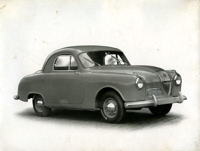 Foto Hanomag Partner 1950er Jahre