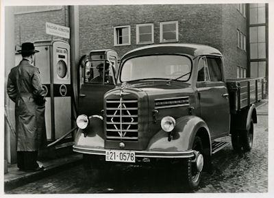 Foto Borgward Lkw 1,25 to 1950er Jahre