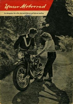 NSU Unser Motorrad 5.1955