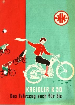 Kreidler K 50 Prospekt 7.1953