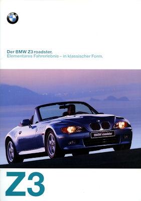 BMW Z 3 Prospekt 1997