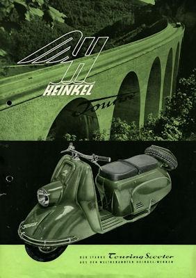 Heinkel Tourist 149 ccm Prospekt 1953