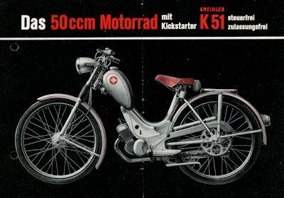 Kreidler K 51 Prospekt 9.1953