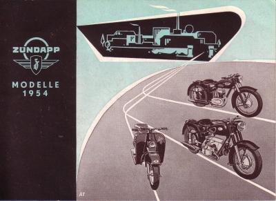 Zündapp Programm 1954