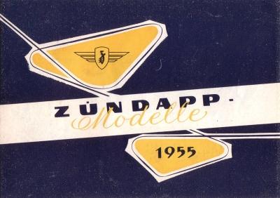 Zündapp Programm 1955