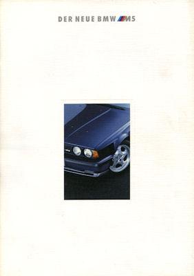 BMW M 5 Prospekt 1992