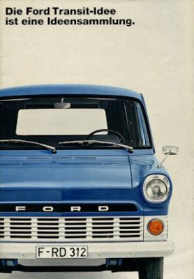 Ford Transit Prospekt 1970