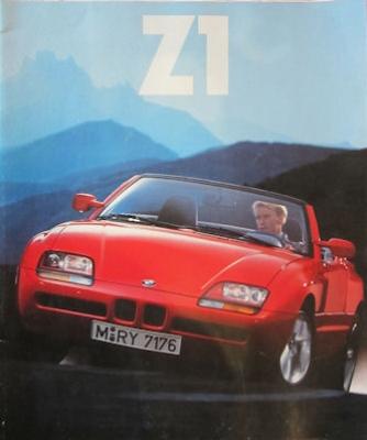 BMW Z 1 Prospekt 1989