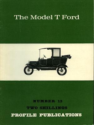 Ford Model T Profile Publications No. 13
