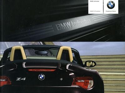 BMW Z 4 Prospekt 2006