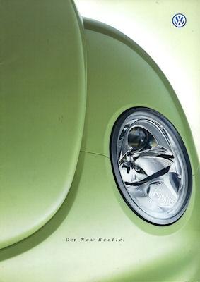 VW New Beetle Prospekt 1999