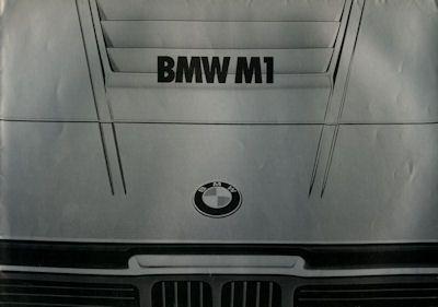 BMW M 1 Prospekt 2.1978