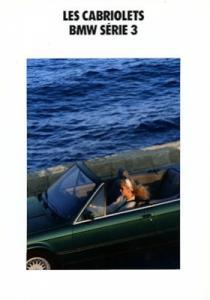 BMW 320i 325i Cabrio Prospekt 1992 f