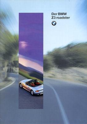 BMW Z 3 Prospekt 1996