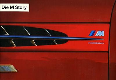BMW M Story Prospekt ca. 1993