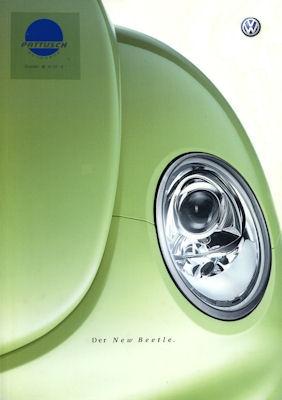 VW New Beetle Prospekt 2001