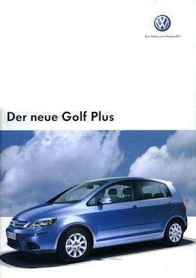 VW Golf V Plus Prospekt 2005