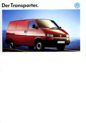 VW T 4 Transporter Prospekt 1993
